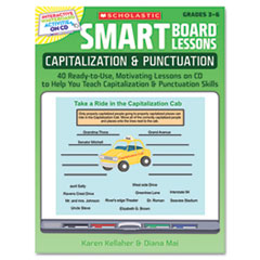 SMART Board Lessons with CD, Grammar, Grades 3-6, 48 pages
