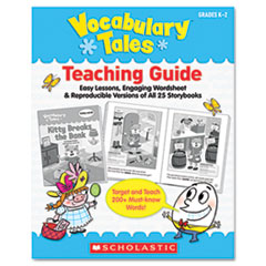 Vocabulary Tales, 25 Books/16 Pages and Teaching Guide, Grades K-1