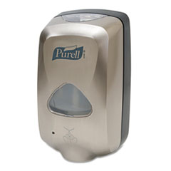 PURELL TFX Touch Free Dispenser, 1200mL, Nickel