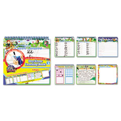 The Board Dudes SmartDudes Printing Learning Book, Cursive, Six Pages, Grade 3 and Up
