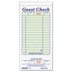 Rediform®-FORM,GUEST CHECK BOOK,WH