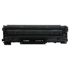Canon 3500B001AA (128) Toner, 2,100 Page-Yield, Black