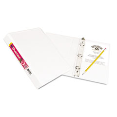 Avery Durable View Binder with Round Rings, 5 1/2 x 8 1/2, 1