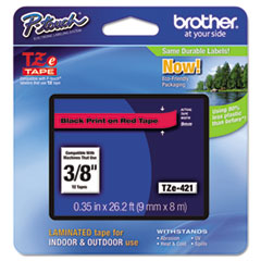 BRT TZE421 Brother P-Touch TZe Series Standard Adhesive Laminated Labeling Tape BRTTZE421