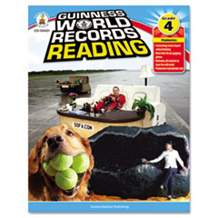 Guiness World Record Reading, Grade 4, 128 pages