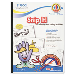 Mead Writing Fundamentals Tablet, Snip It, 12 x 9, 34 Sheets per Pad