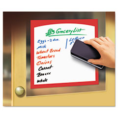 Avery Peel & Stick Dry Erase Border Sheets, 8 1/2 x 11, White/Asst. Borders, 4/Pack