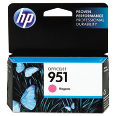 CN051AN140 (HP 951) Ink Cartridge, 700 Page Yield, Magenta