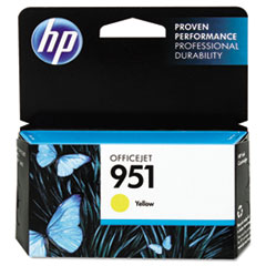 CN052AN140 (HP 951) Ink Cartridge, 700 Page Yield, Yellow