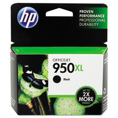CN045AN140 (HP 950XL) Ink Cartridge, 2500 Page-Yield, Black