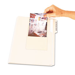 C-Line Peel & Stick Photo Holders for 3x5 & 4 x 6 Photos, 4-3/8 x 6-1/2, Clear, 10/Pack