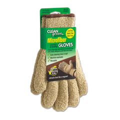 Master Caster CleanGreen Microfiber Dusting Gloves, Pair