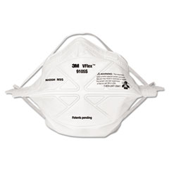 3M VFlex Particulate Respirator N95, Small, 50/box