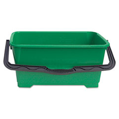 Unger Pro Bucket, 6 gal, Plastic, Green