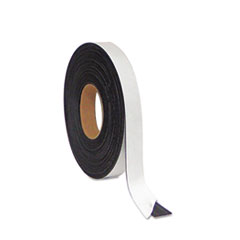MasterVision Magnetic Adhesive Tape Roll, Black, 1