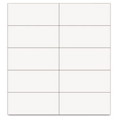 MasterVision Dry Erase Magnetic Tape Strips, White, 2