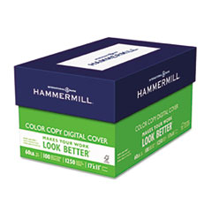 Hammermill Color Copy Digital Cover Stock, 60 lbs., 11 x 17, White, 250 Sheets