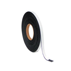 MasterVision Magnetic Adhesive Tape Roll, 1/2