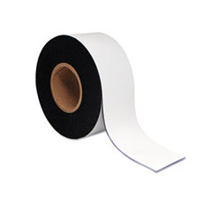 MasterVision Dry Erase Magnetic Tape Roll, White, 3