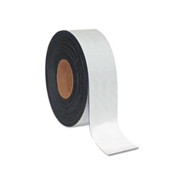 MasterVision Dry Erase Magnetic Tape Roll, White, 2