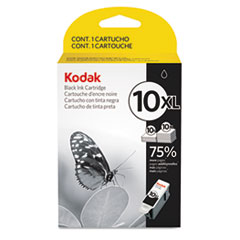 Kodak 2687315 (#10XL) High-Yield  Ink, 770 Page-Yield, Black