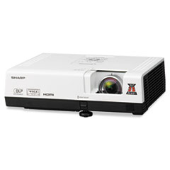 Sharp PG-D2870W Multimedia Projector, 3000 Lumens, 1280 x 800 Pixels