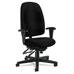 GLB 32173NBKPB09 Global Granada Series High-Back Multi-Tilter Chair GLB32173NBKPB09
