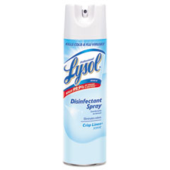 Professional LYSOL Brand Disinfectant Spray, Linen, 19 oz. Aerosol
