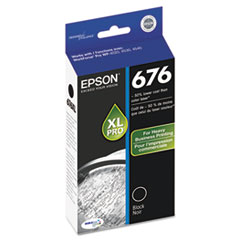 Epson T676XL120, DURABrite Ultra Ink, Black