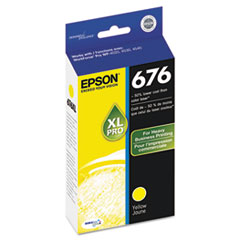 Epson T676XL420, DURABrite Ultra Ink,Yellow