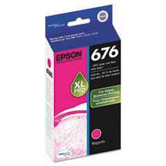 Epson T676XL320, DURABrite Ultra Ink, Magenta