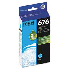 Epson T676XL220, DURABrite Ultra Ink, Cyan