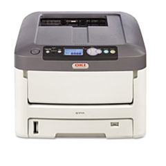 Oki C711n Laser Printer, Network-Ready