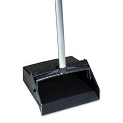 AbilityOne 7920014606663 Lobby Dustpan, 12 x 11 Hopper, Black/Silver