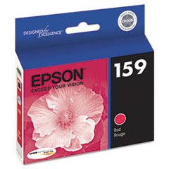 Epson T159720 High-Gloss Ink, Red
