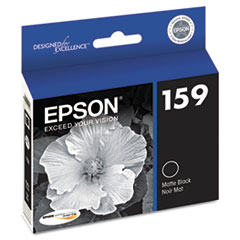 Epson T159820 High-Gloss Ink, Matte Black