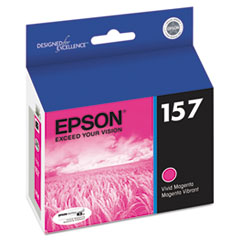 Epson T157320 UltraChrome K3 Ink, Magenta