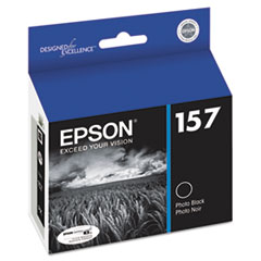 Epson T157120 UltraChrome K3 Ink, Photo Black