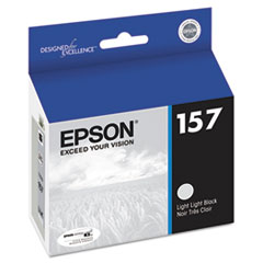 Epson T157920 UltraChrome K3 Ink, Light Light Black