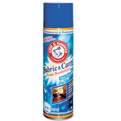 Arm & Hammer Fabric and Carpet Foam Deodorizer, Aerosol, 6/Carton