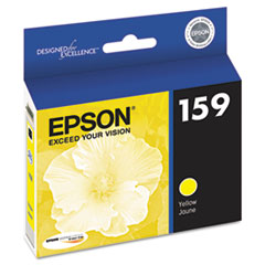 Epson T159420 High-Gloss Ink, Yellow