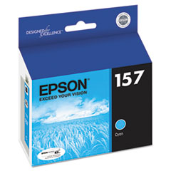 Epson T157220 UltraChrome K3 Ink, Cyan