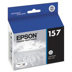 Epson T157720 UltraChrome K3 Ink, Light Black