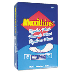 Hospital Specialty Co. Maxithins Sanitary Pads, 100/Carton