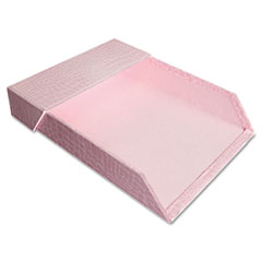 Aurora Products ProFormance Letter Tray, Crocodile Pattern, 2 1/4 x 9 5/8 x 12 3/8, Pink