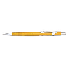 Pentel Sharp Mechanical Drafting Pencil, 0.9 mm, Yellow Barrel