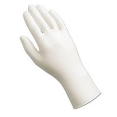AnsellPro Dura-Touch 5-Mil PVC Disposable Gloves, Large, Clear