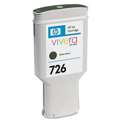 CH575A (HP 726) Ink Cartridge, 300mL, Matte Black