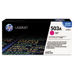 Q7583AG (HP 503A) Government Smart Toner Cartridge, 6000 Page-Yield, Magenta