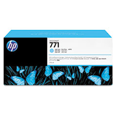 B6Y20A (HP 771) Ink Cartridge, 775 mL, Light Cyan